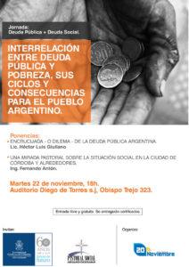 Invitación Jornada de Deuda Pública + Deuda Social